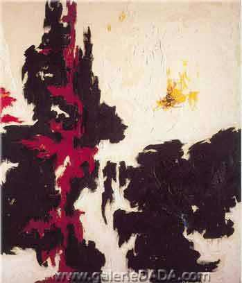 Clyfford Still,  1947-Y No.1 Fine Art Reproduction Oil Painting