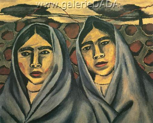 Rufino Tamayo,  Women Fine Art Reproduction Oil Painting