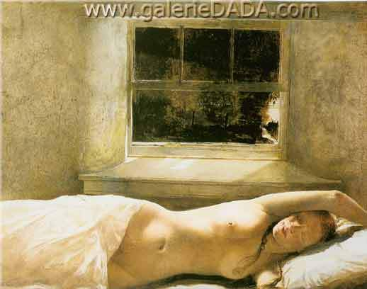 Andrew Wyeth,  Overflow Fine Art Reproduction Oil Painting