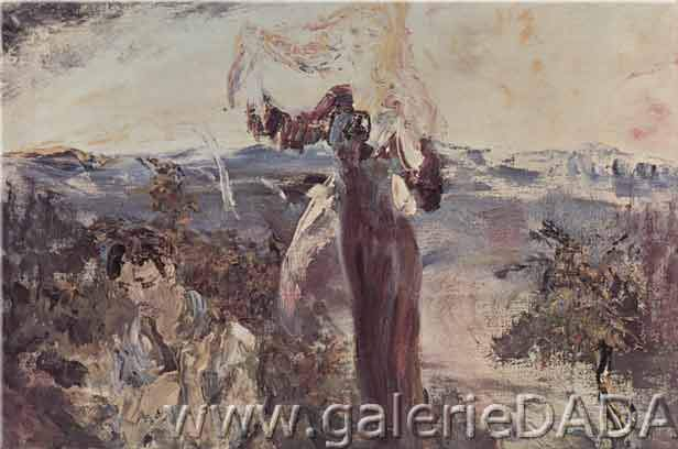 Jack Butler Yeats,  Rise Up Willie Riley Fine Art Reproduction Oil Painting