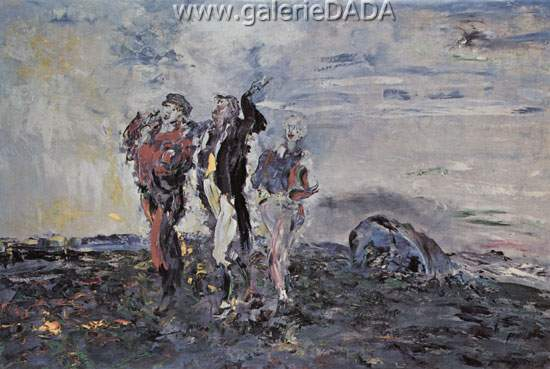 Jack Butler Yeats,  Shouting Fine Art Reproduction Oil Painting