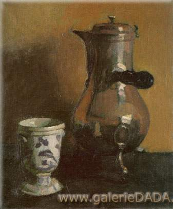 Albert Marquet, La Cafetiere Fine Art Reproduction Oil Painting