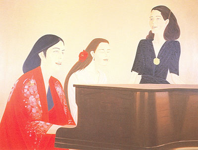 Alex Katz, Song  Fine Art Reproduction Oil Painting