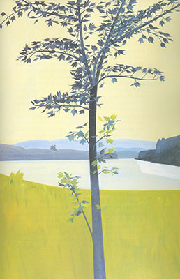 Alex Katz, Swamp Maple 4.30 Fine Art Reproduction Oil Painting