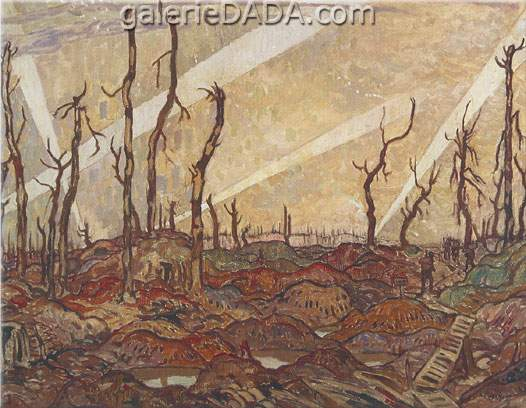 Alexander Y. Jackson, A Copse in Evening Fine Art Reproduction Oil Painting