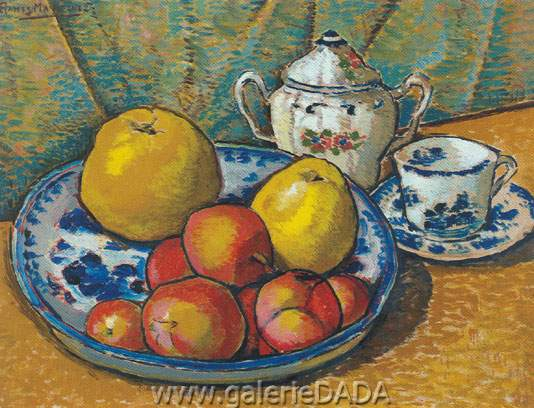 Alfredo Ramos Martinez, Table with Fruits Fine Art Reproduction Oil Painting
