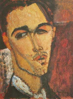 Amedeo Modigliani, Celso Lagar Fine Art Reproduction Oil Painting