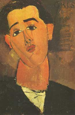 Amedeo Modigliani, Juan Gris Fine Art Reproduction Oil Painting