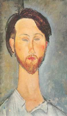 Amedeo Modigliani, Leopold Zbrorowski Fine Art Reproduction Oil Painting