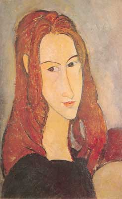 Amedeo Modigliani, Portrait of a Girl Fine Art Reproduction Oil Painting