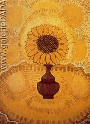 Amelia Pelaez, Sunflower Fine Art Reproduction Oil Painting