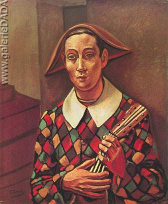 Andre Derain, Harlequin Fine Art Reproduction Oil Painting