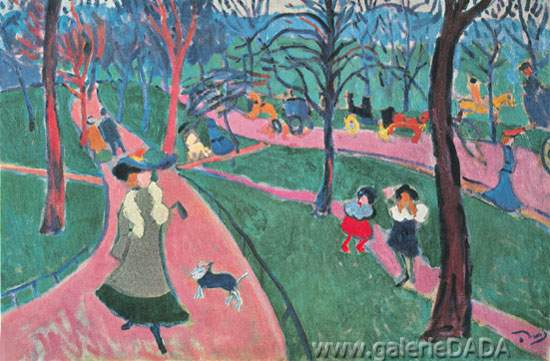 Andre Derain, Hyde Park Fine Art Reproduction Oil Painting