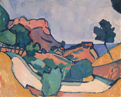 Andre Derain, Road in the Mountains Fine Art Reproduction Oil Painting
