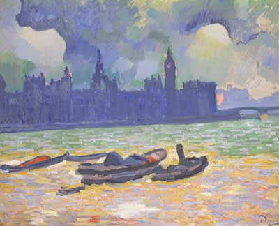 Andre Derain, The Palace of Westminster Fine Art Reproduction Oil Painting