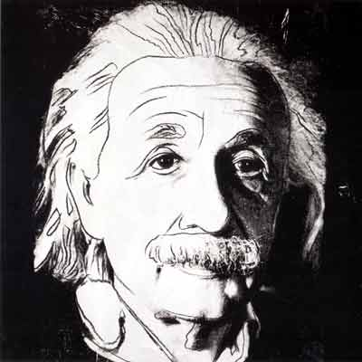 Andy Warhol, Albert Einstein Fine Art Reproduction Oil Painting