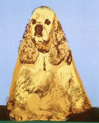 Andy Warhol, Cocker Spaniel Fine Art Reproduction Oil Painting