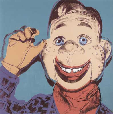 Andy Warhol, Myths (Howdy Doody ) Fine Art Reproduction Oil Painting