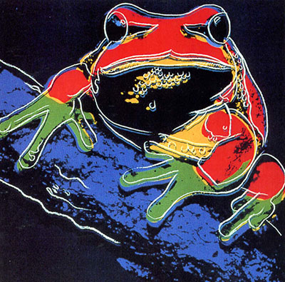 Andy Warhol, Pine Barrens Tree Frog Fine Art Reproduction Oil Painting