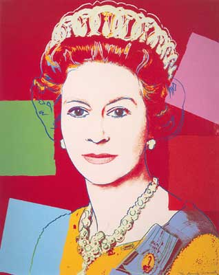 Andy Warhol, Reigning Queens, Queen Elizabeth II Fine Art Reproduction Oil Painting