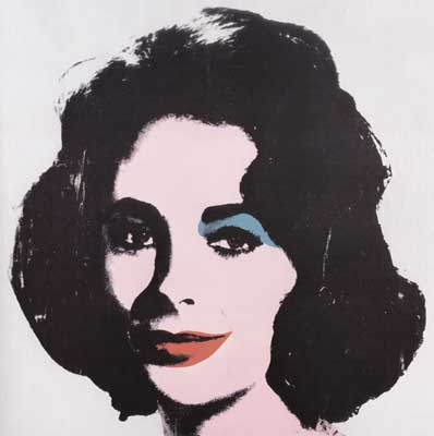 Andy Warhol, Silver Liz Fine Art Reproduction Oil Painting