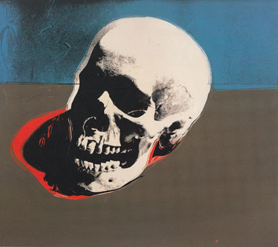 Andy Warhol, Skull Fine Art Reproduction Oil Painting