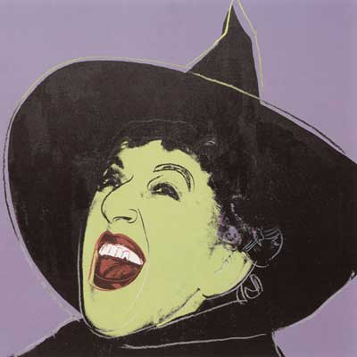Andy Warhol, Witch Fine Art Reproduction Oil Painting