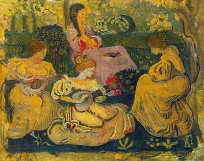 Aristride Maillol, Concert des Femmes Fine Art Reproduction Oil Painting