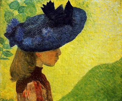 Aristride Maillol, Mademoiselle Faraill with a Hat  Fine Art Reproduction Oil Painting