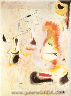 Arshile Gorky, Charred Beloved I Fine Art Reproduction Oil Painting