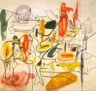 Arshile Gorky, Painting Fine Art Reproduction Oil Painting