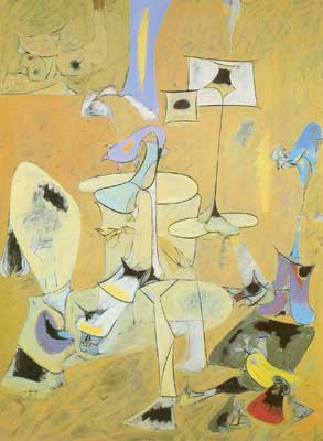 Arshile Gorky, The Betrothal II Fine Art Reproduction Oil Painting