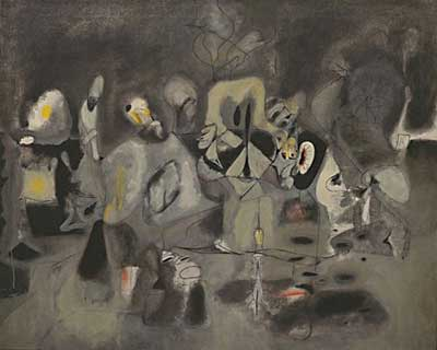 Arshile Gorky, The Diary of a Seducer Fine Art Reproduction Oil Painting