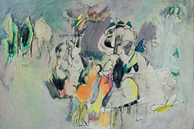 Arshile Gorky, The Pirate I Fine Art Reproduction Oil Painting