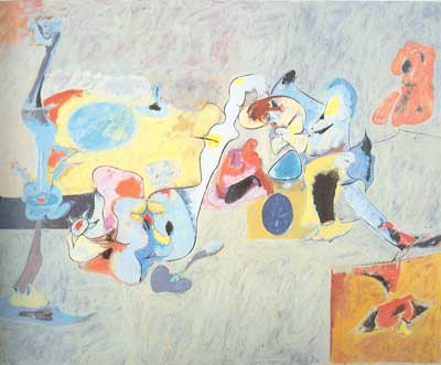 Arshile Gorky, The Plow and the Song Fine Art Reproduction Oil Painting