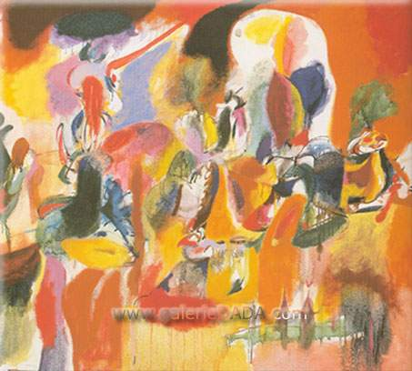 Arshile Gorky, Water of the Flowery Mill Fine Art Reproduction Oil Painting