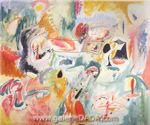 Arshile Gorky, Year after Year Fine Art Reproduction Oil Painting