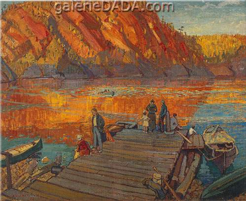 Arthur Lismer, Autumn Bon Echo Fine Art Reproduction Oil Painting