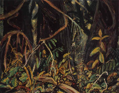Arthur Lismer, Growth and Undergrowth, Forest, B.C. Fine Art Reproduction Oil Painting