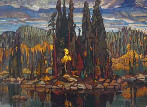 Arthur Lismer, Isles of Spruce Fine Art Reproduction Oil Painting