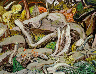 Arthur Lismer, Old Log Pine, Georgian Bay Fine Art Reproduction Oil Painting