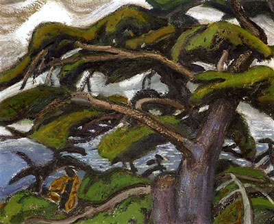 Arthur Lismer, Pines, Georgian Bay Fine Art Reproduction Oil Painting