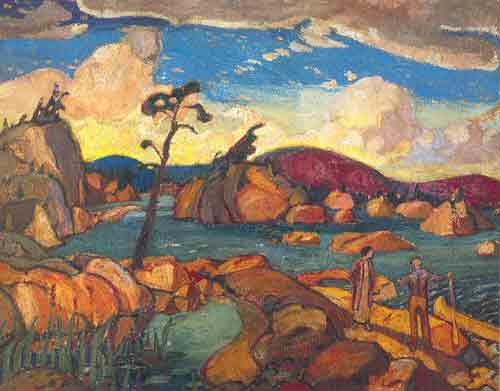 Arthur Lismer, The Happy Isles Fine Art Reproduction Oil Painting