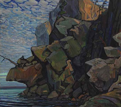Arthur Lismer, The Sheeps Nose, Bon Echo Fine Art Reproduction Oil Painting