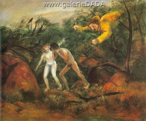 Arthur Merric Boyd, The Expulsion 2 Fine Art Reproduction Oil Painting