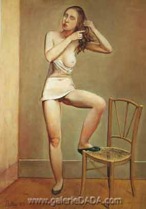 Balthasar Balthus, Alice Fine Art Reproduction Oil Painting