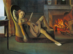 Balthasar Balthus, Happy Days Fine Art Reproduction Oil Painting