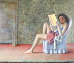 Balthasar Balthus, Katia Reading Fine Art Reproduction Oil Painting