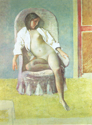 Balthasar Balthus, Nude in Repose Fine Art Reproduction Oil Painting