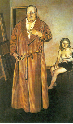 Balthasar Balthus, Portrait of Andre Derain Fine Art Reproduction Oil Painting